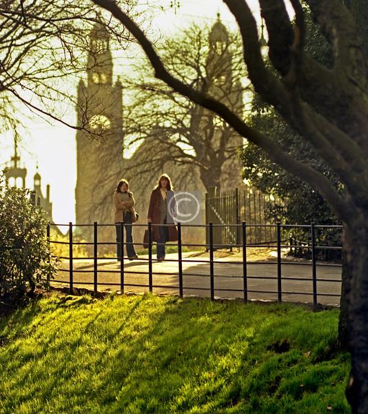 Kelvingrove Park, 1977.