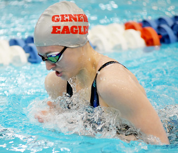Division II district swimming