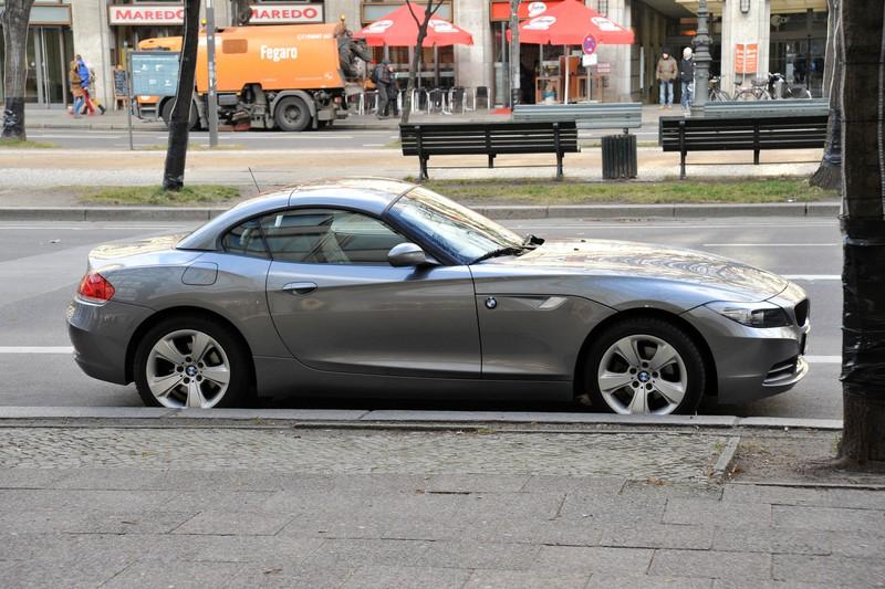 BMW on Unter Den Linden, Berlin.