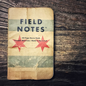 #MyFavoriteThings 01 - Field Notes