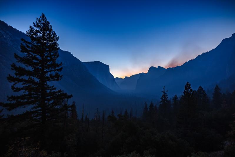 2017 10/08: Epic Sunrise, Vernal Fall Hike