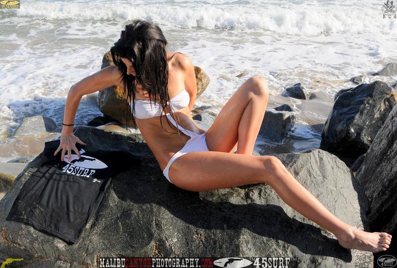beautiful woman sunset beach swimsuit model 45surf 831.465