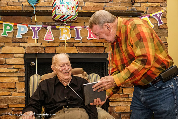 March 2017 - Uncle George's 97th BD reunion