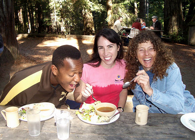 Camp Swing in Woodlands of Mendocino - October 2006