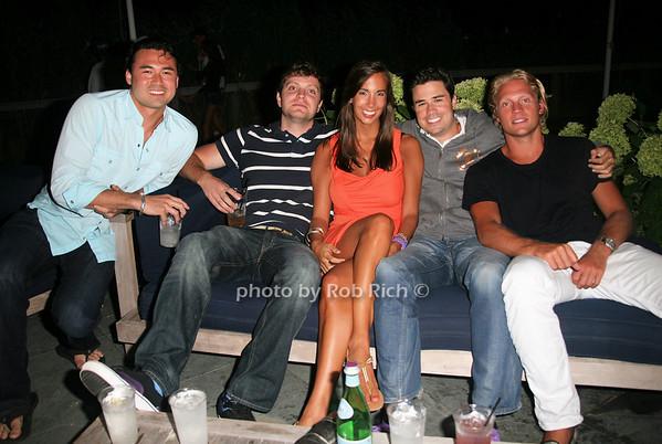 Torra Matsuoka, Caleb Hannabury, Dana Jackson, Craig Geuer, Kyle Rosko  photo by Jakes for Rob Rich© 2010 robwayne1@aol.com 516-676-3939
