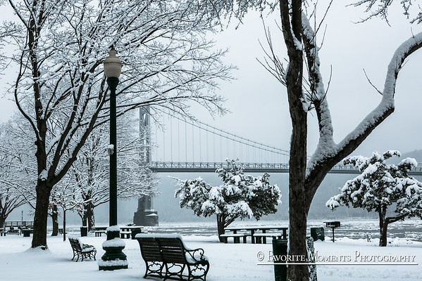 Poughkeepsie Waterfront in the Winter