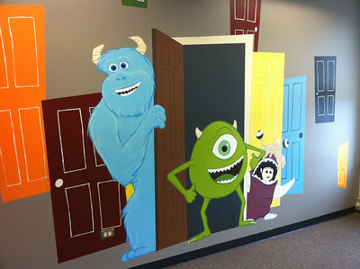 Monsters Inc Wall