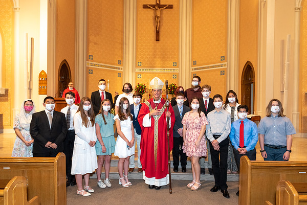 2021 Church of the Holy Family Confirmation