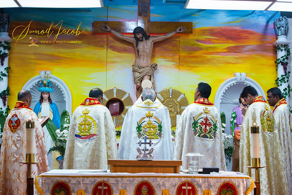 SOLEMN HOLY COMMUNION - ST.JUDE SYRO MALABAR CATHOLIC CHURCH