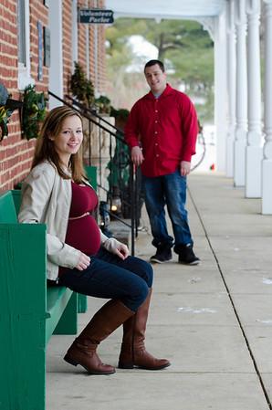 Lindsey and Justin Baby Bump