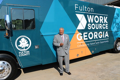 Chairman Pitts Visits WorkSource Bus