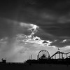 Santa Monica Storm Clouds _bw