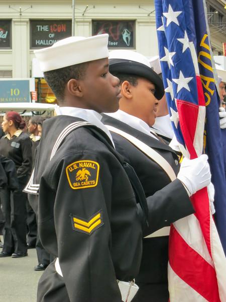 Veterans day parade, New York - November 11, 2013