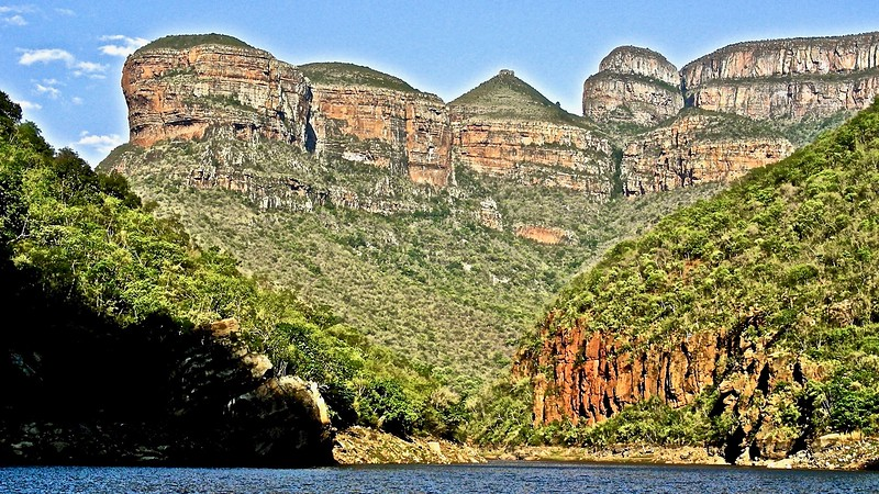 The Three Rondavels : Blyde River Canyon