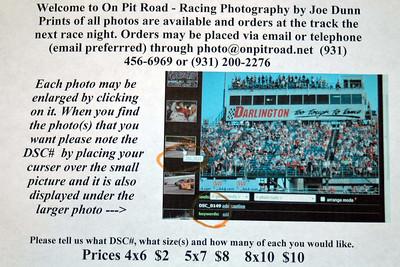 Crossville Raceway Awards 2007
