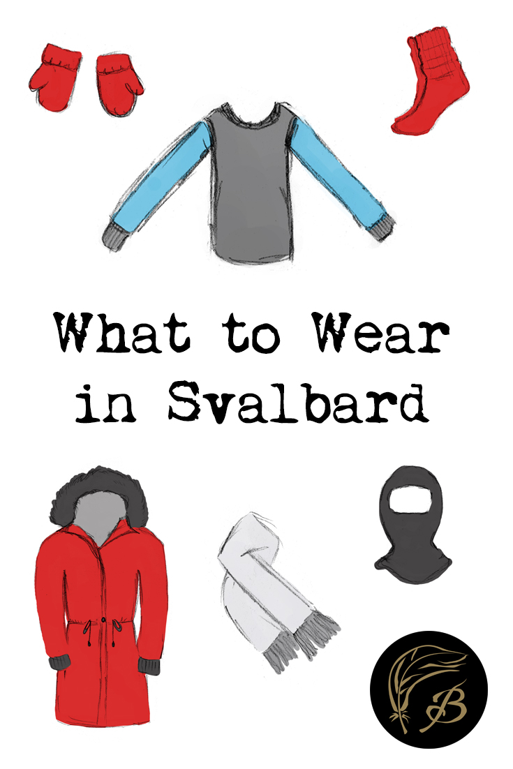 Wondering what to wear in Svalbard and keen not to freeze your toes off? Here's a comprehensive, illustrated guide to help you out!