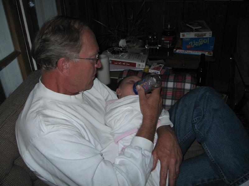 Papa and Megan
