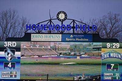 Mount St Mary's vs Johns Hopkins 03-10-2020