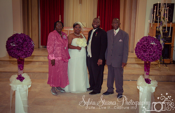 Wedding and Reception of Jerry and Clarissa Pinckney