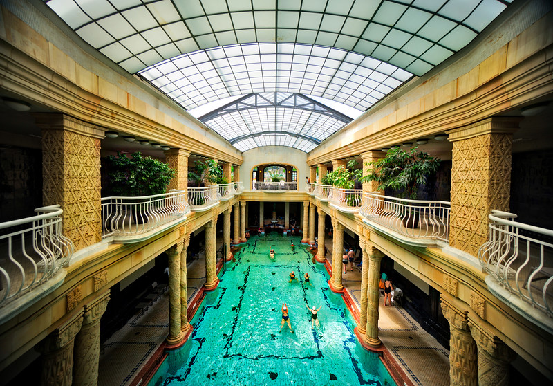 Bathhouses in Budapest