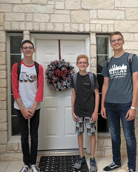 Tyler, Neil and Hunter | 10th grade, 7th grade and 12th grade | Vista Ridge High School and Henry Middle School