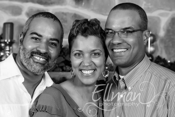 Gamell Family 2 black and white