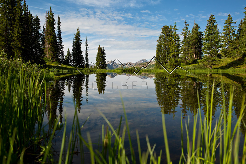 Reflection from the Paradise Divide, CO