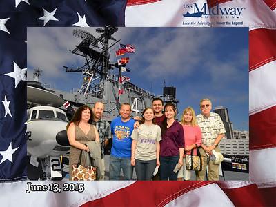USS Midway, San Diego, and Coronado