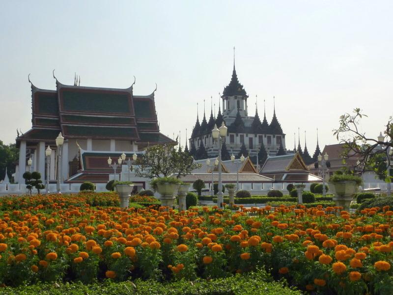 Wat Ratchanatdaram. Bangkok, Thailand