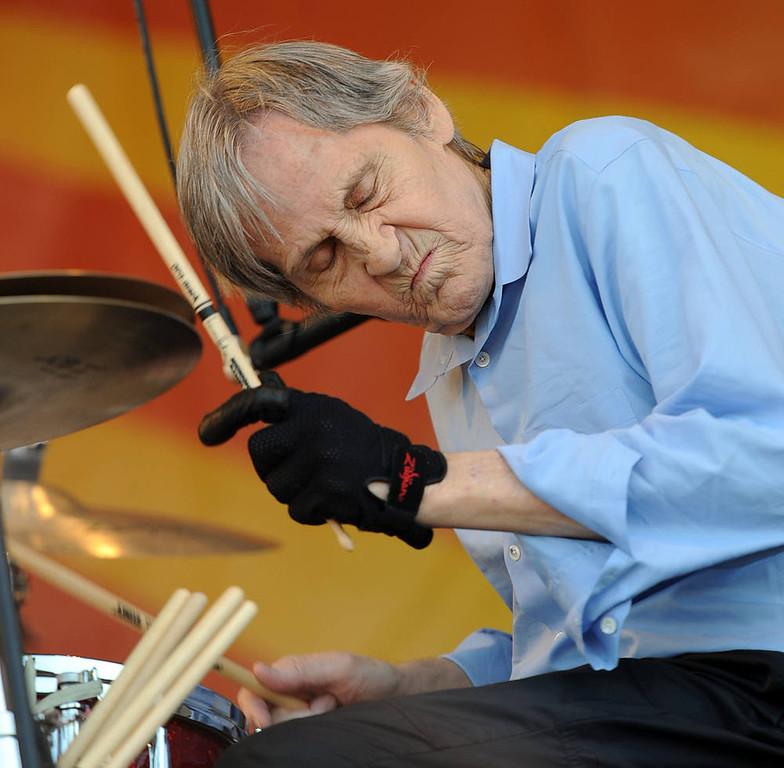 . Singer/Songwriter Levon Helm (Levon Helm Band).  (Photo by Rick Diamond/Getty Images)