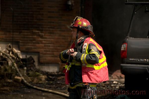 Bartlett Fire - Sept. 5, 2009 - Residential Fire