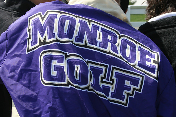 2013 Falcon Golf Team at Forsgate CC, April 22, vs Old Bridge and Woodbridge HS