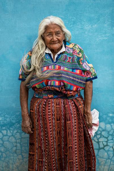 Old Mayan Lady.
