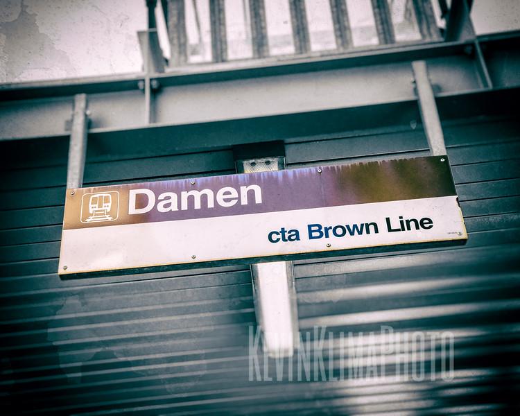 Damen - CTA Brown Line