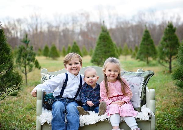 Blake, Gwen & Max {tree mini}