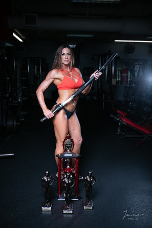 Kristina Rachelle at gym