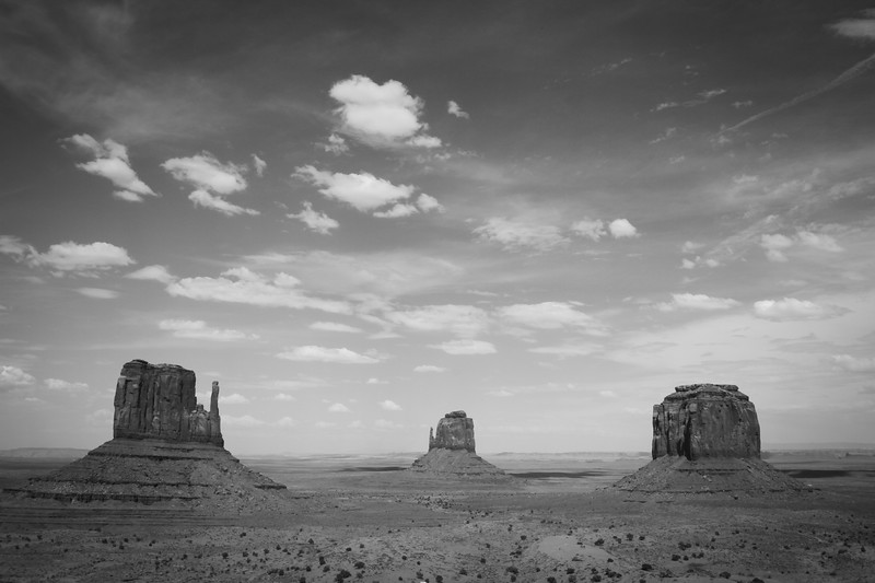Monument Valley, Navajo Tribal Territory, Arizona/Utah, USA