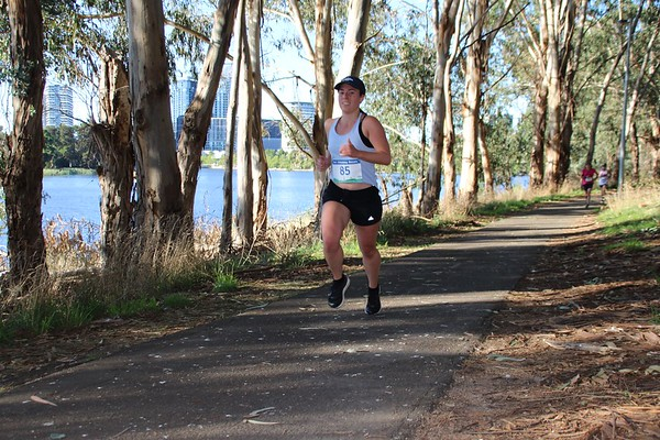 Sri Chinmoy 10km & 4km Fun-Runs, Lake Ginninderra, Sunday 14 February 2021