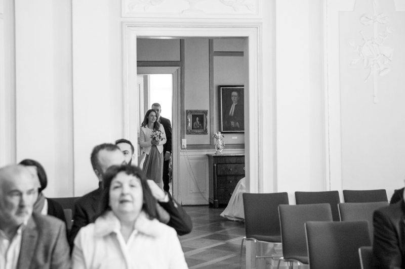 La Rici Photography - Intimate City Hall Wedding 018BW.jpg