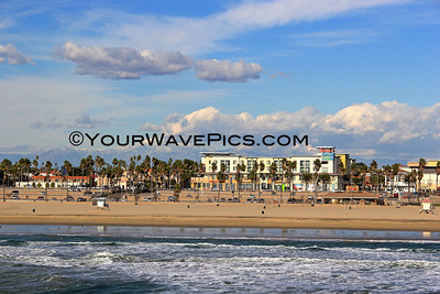 Huntington Beach Clouds and Snow Views 1/28/13