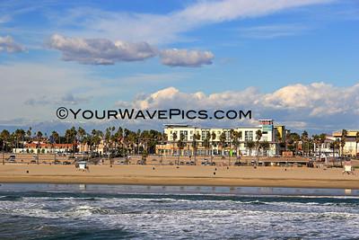 Huntington Beach Clouds and Snow Views 1/28/13
