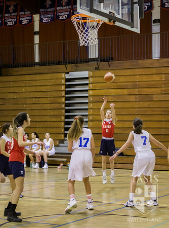 TASIS Girls Basketball Battles ASM