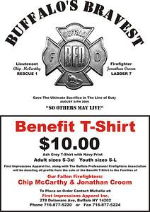 Buffalo's Bravest Benefit T-Shirt