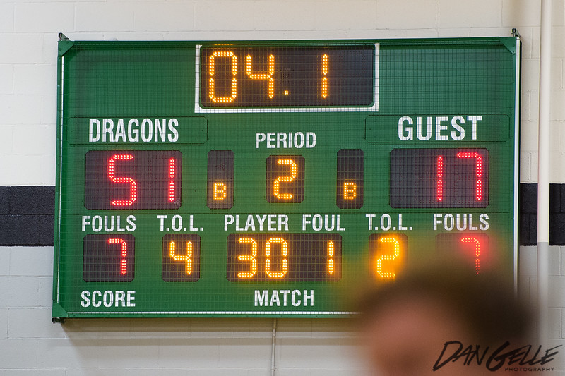 Dragons Boys Basketball vs HLWW