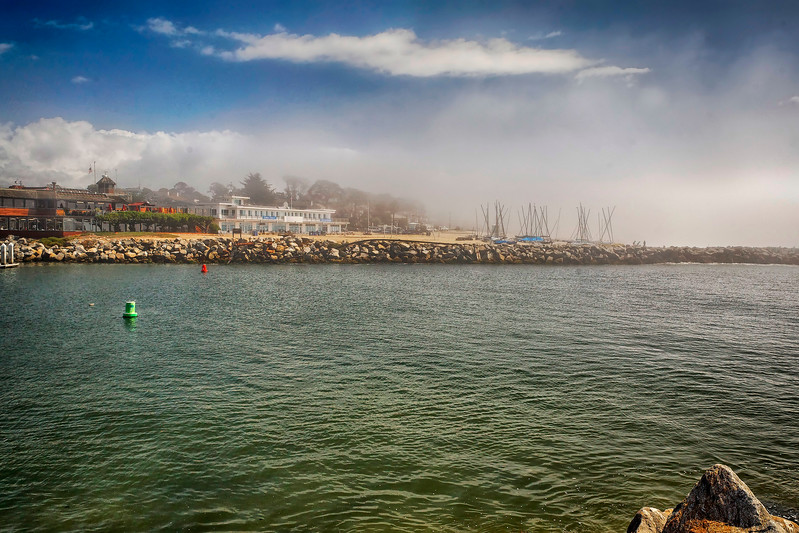 Santa Cruz Harbor Inlet
