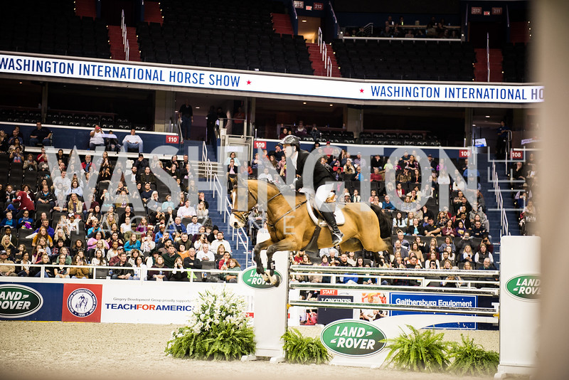 Washington International Horse Show, Young Nelson Society, Capital One Arena, October 26, 2018.  Photo by Ben Droz.