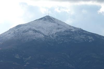 Jan 8/9 - Snow on Milos