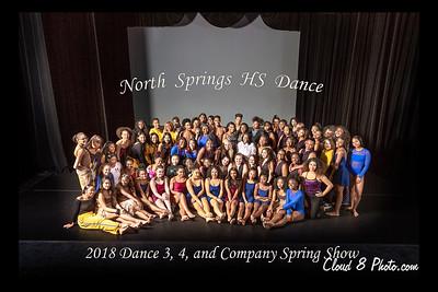 2018-Dance 3, 4, Company Spring Show