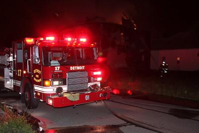 House Fire ~ Joseph Campau @ East Ferry
