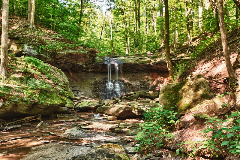 Blue Hen Falls in the Cuyahoga Valley National Park